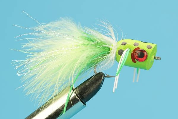 Soft Foam Bass Popper Frog