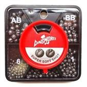 Dinsmores Black Round Lead 5 Split Shot Dispenser