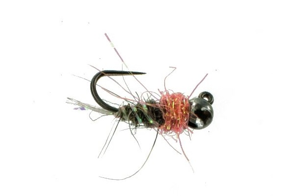 B Smo's Grey Squirrel Jig Nymph--By CATCH