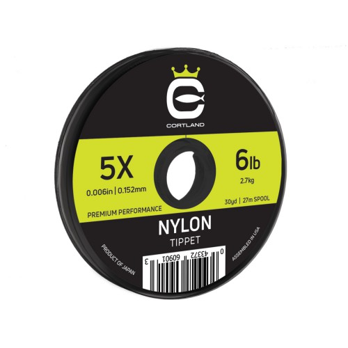 Cortland Copolymer Nylon Tippet--50 yds