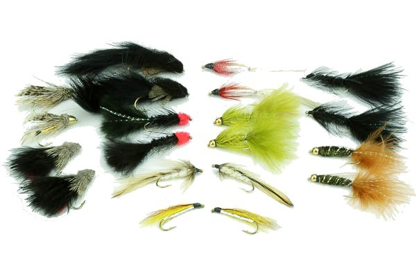 Streamer Assortment--20 flies