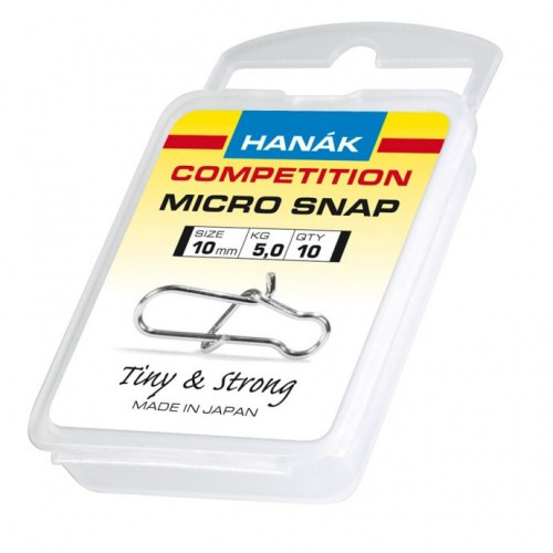 Hanak Competition Micro Snaps 10 Pack