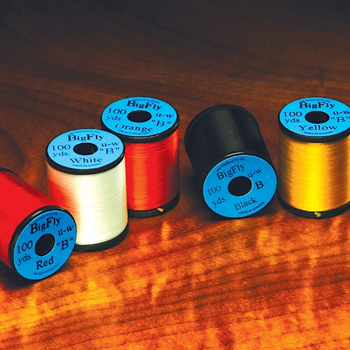 Uni Big Fly Thread 400 Denier--80 Yards