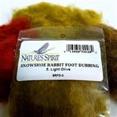 Snowshoe Rabbit Foot Dubbing--Nature Spirit