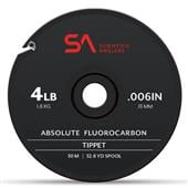 Absolute Fluorocarbon Tippet 30m--Scientific Anglers