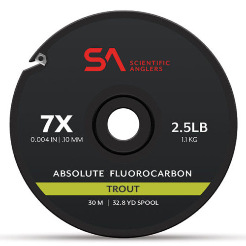 Absolute Fluorocarbon Trout Tippet 30m--Scientific Anglers