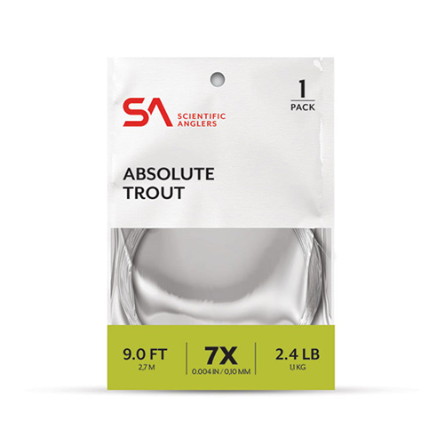 Absolute Trout Leader 7.5'--Scientific Anglers
