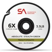 Absolute Trout Stealth Tippet 30m--Scientific Anglers
