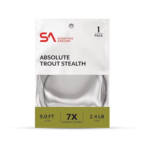 Absolute Trout Stealth Leader 9'--Scientific Anglers