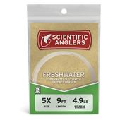 Scientific Anglers Freshwater Leaders- 9' -- 2 Pack