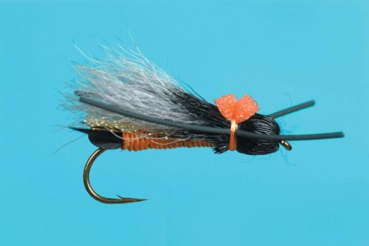 Bullet Head Salmon Fly--By Solitude