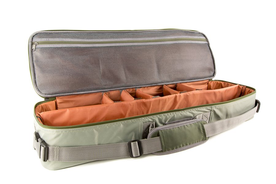 Rod and reel travel case bigyflyco for Fishing rod and reel case