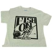 Big Y Fish On T-Shirt