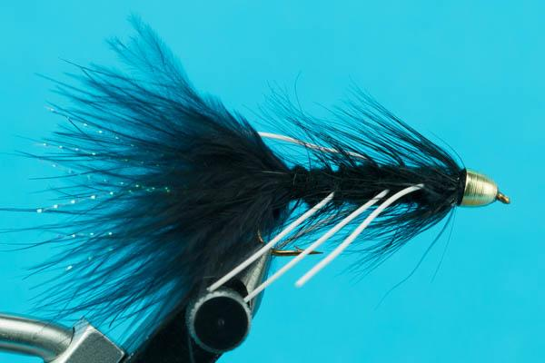 Conehead Woolly Bugger Rubber Legs