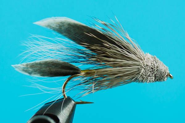 Details about  / 6 x  Muddler Minnow classic fly 3 x natural 3 x Black size 8