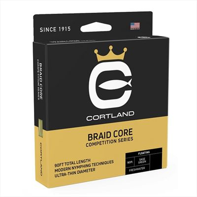 Cortland Competition Braided Core Fly Line