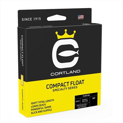 Cortland Compact Float Fly Line