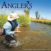 2019 Angler's Fly Fishing Wall Calendar