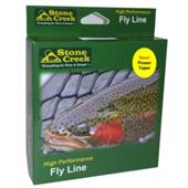 Stone Creek Power Taper Weight Forward Fly Line