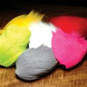 Deer Belly Hair Dyed From White--Hareline