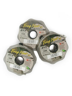 Frog Hair Fluorocarbon Tippet--25m