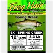 Frog Hair Spring Creek Leader