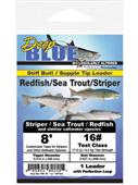 Deep Blue Stiff Butt Leader Redfish/Sea Trout/Striper 8'