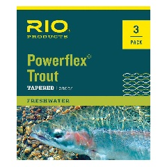 Rio Trout Leader 9'--3 Pack