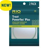 Rio Powerflex Plus Leader 12'--2 Pack