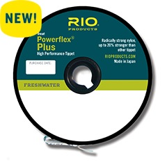 Rio Powerflex PLUS Tippet--50 yds.